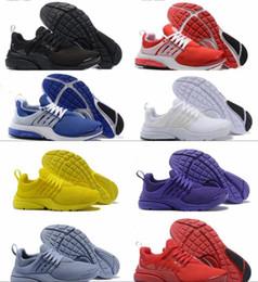 2019 zapatillas presto 2018 PRESTO BR QS Breathe amarillo para hombre Blanco Negro prestos zapatillas de deporte para los hombres WomenRunning Deportes zapatos de diseño de calzado zapatillas presto baratos