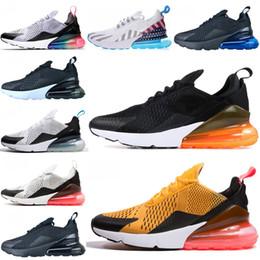 zapatillas ligeras Rebajas Nike air max 270 Cojín OG y amortiguación de goma zapatillas de deporte corrientes peso ligero OG malla transpirable zapatos atléticos de amortiguación Deportes run9