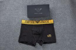 4c00575c43 7 Fotos Compra Online Ropa interior sexy hombre boxer-Nuevo Diseñador de  Lujo V Sexy Boxers de