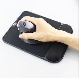 mouse del polso Sconti Borsa ergonomica di prevenzione di espansione del mouse del protettore del polso del rilievo del polso del rilievo del mouse del cotone di memoria di elasticità di alta qualità