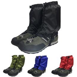 wanderschuhe Rabatt Outdoor Schnee Ski Gamaschen Leg Cover Wandern Klettern Boot Leggings wasserdicht Jagd Trekking