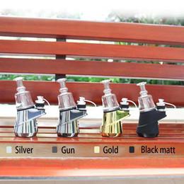 Velas para cera on-line-Concentrado Original SOC Peak Enail Kit 2600mAh Wax Shatter Budder Dab Rig Vape Kit Com 4 Calor Configurações de longa duração para Puffco Authentic
