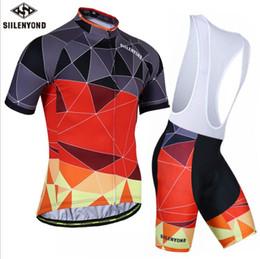 Hot SIILENYOND estate nuova tuta manica corta da uomo e da donna in bicicletta modelli di asciugatura rapida abbigliamento outdoor abbigliamento da corsa da