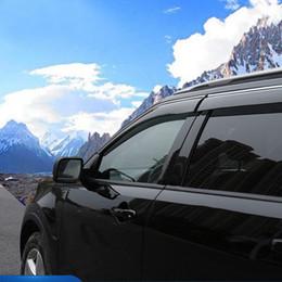 2019 chevrolet aveo sonic Para Ford Explorer 2011 - 2018 Plástico ventana visera parasol lluvia Guardia deflector Recorte 4pcs Car Styling