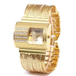volle kristallfrauenuhren Rabatt Frauen Runde Voller Diamanten Armbanduhr Analog Quarzwerk Armbanduhr Mode Kristall Edelstahl