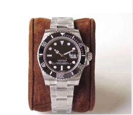 keramikzähler Rabatt Herrenuhren Luxus Mode Mann Uhr 2813 Bewegung automatische Bewegung Armbanduhr Keramik Lünette 30 Meter wasserdicht Fashion Business Uhren