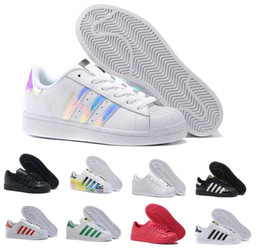 2017 Hot Women Shoes Fashion ADIDAS SUPERSTAR 80 TRAINERS