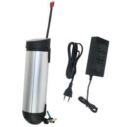 2019 caricabatteria della batteria della batteria del litio Batteria al litio batteria al litio Batteria batteria al litio 36V 10AH per bici elettrica Kit conversione bici 250W 350W e bici con caricabatterie e BMS gratuiti sconti caricabatteria della batteria della batteria del litio