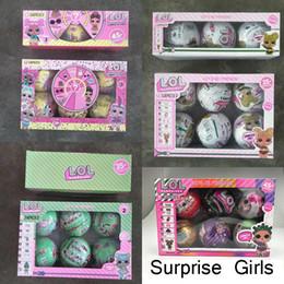2019 roupas de plástico para meninas 10 centímetros Glitter Série 1 2 3 Boneca Mágica Action Ball Egg Figuras crianças Brinquedos Desempacotar Dolls meninas engraçadas Up presente Vestido
