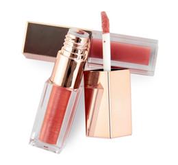 Canada Blanc en gros logo couleur perle lumière glaçure brillante brillant à lèvres hydratant glaçure à lèvres liquide liquide rouge à lèvres Offre