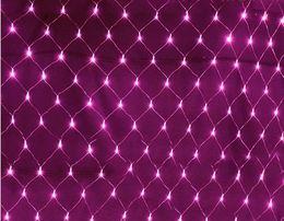 grande stella di natale illuminata Sconti 10MX8M LED extra large pesca lanterna luce rete esterna delle vacanze impermeabile piena stella di Natale luci