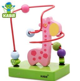 brinquedo de labirinto de madeira Desconto Novidade Rodada Talão Labirinto Animal De Madeira Brinquedo Educativo Novidade Itens Mão Do Bebê Coordenação Olho Inteligência de Aprendizagem Inteligente Crianças