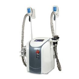 Machine à cavitation faciale en Ligne-5 en 1 cavitation de Cryolipolysis + RF + Facial RF + 40K + Lipo Laser Machine de congélation de graisse Machine de perte de poids de thérapie Cryo