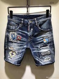 2019 jeans t shirts hommes Nouveaux shorts pour hommes nouveaux jeans décontractés shorts pour hommes style été Bermudes shorts sport pour hommes T-shirt jeans t shirts hommes pas cher