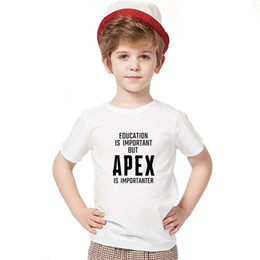 dd26bde346f5 kids designer clothes boys t shirts 18 Designs Cotton 3D Printed Apex  Legends Kids T-shirts Tees Hot Game Cosplay Kids clothes DHL SS38
