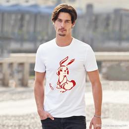 La camisa del patrón del gato online-2019 Diseñador de lujo para hombre T Shirts Camisa de lujo de los hombres de las mujeres camiseta ocasional Cuello redondo de moda patrón de gato bordado algodón de manga corta