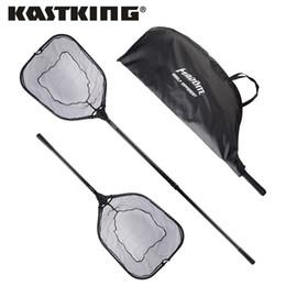 Poignées pliantes en Ligne-KastKing 115cm 193cm Filet de pêche pliant extensible en aluminium avec poignée en caoutchouc super fort facile à porter filet net