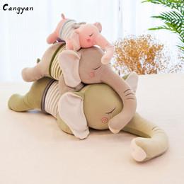 2019 weiche körper tiere brinquedos Süße, langnasige, weiche Körper liegen anfällig wie ausgestopfte Tiere, die mit Elefantenpuppen für festliche Geschenke gefüllt sind. rabatt weiche körper tiere