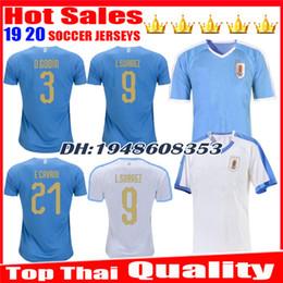 2019 jerseys uruguay Nuevas camisetas de fútbol de Uruguay 2019 2020 C.STUANI 19 20 D.GODIN Camiseta de fútbol L.SUAREZ Uruguay de ARRASCAETA Camiseta de fútbol E.CAVANI rebajas jerseys uruguay