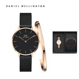2971f391e3b8 Nueva moda Hombre mujer Daniel Wellington relojes 32mm 36mm 40mm Relojes dw  Marca de lujo Reloj de cuarzo con pulsera Caja Relogio daniel wellington  watch ...