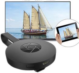 hd cámara poros de cable Rebajas G2 Wireless WiFi Display Dongle Receptor 1080P HD TV Stick Airplay Miracast Media Streamer Adaptador para Google Chromecast 2