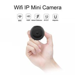2019 câmera de visualização ao vivo A11 Mini Wifi Câmera IP HD 1080 p Night Vision Camcorder de vídeo Esportes Ao Ar Livre DV DVR 150 graus de Largura Ângulo de Detecção de Movimento mini Cam