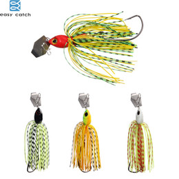 buzzbait lures Promo Codes - ASY CATCH 6pcs lot Lures Chatterbait Elite Series with silicone Skirts buzzbait spinnerbait for lure fishing EASY CATCH 6pcs lot Lures Ch...