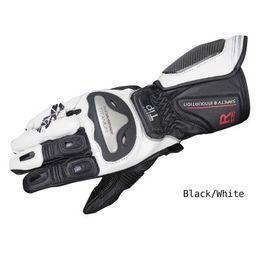 titan motorrad handschuhe Rabatt Komine GK 169 Titanium Racing Handschuhe Motorrad-Motorrad Motocross-Fahrt Carbon-Schutzlederhandschuhe