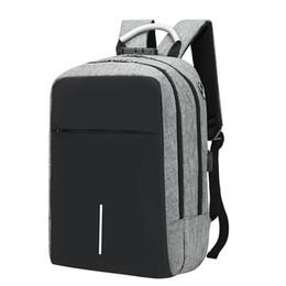 USB Зарядка для ноутбука Рюкзак 15.6-дюймовый противоугонные водонепроницаемый большой емкости для ноутбука сумка от