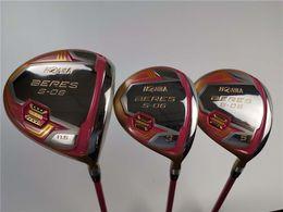 Brand New 3PCS S-06 Set da donna da donna S-06 Driver per mazze da golf + Fairway Woods Albero di grafite con copricapo da