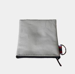 Свадебный подарок кошелька монет онлайн-Хлопковые сумки на молнии из хлопка Косметические сумки Косметички из хлопка Подарочные пакеты Холст Кошелек для монет