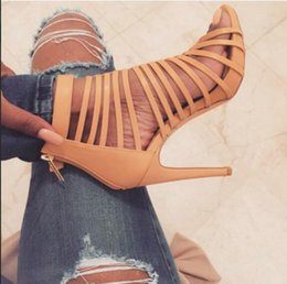 animais sexy Desconto Novo Design Estampas de Animais Grão de Pele De Cobra Sandálias Elegantes de Salto Alto Sexy Fivela Cinta Mulher Sandálias Sapatos de Salto 12 CM