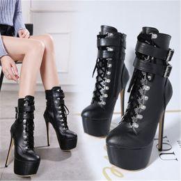 competitive price d7afe ecc4c Rabatt Fetish High Heel Ankle Boots | 2019 Fetish High Heel ...