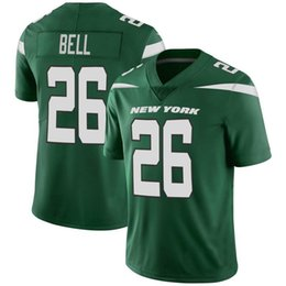 mens jersey red Promo Codes - Mens Youth Womens New York 14 Sam Darnold 26 Le'Veon Bell 33 Jamal Adams Jersey Kids Lady Green White Black Untouchable Limited Jerseys