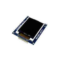 Lcd power ic онлайн-ЖК-модуль Дисплей PCB Адаптер 1,8-дюймовый последовательный интерфейс SPI TFT Power IC Гнездо SD 128X160 C1Hot Новое поступление для Arduino Diy Kit