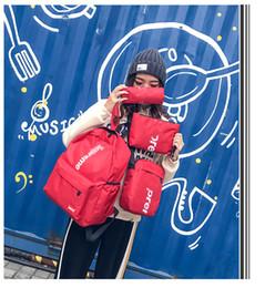 2019 sacchetto scolastico femminile coreano Zaino da uomo e da donna femminile versione coreana della nuova borsa sportiva per lo studente del liceo selvaggio per il tempo libero sacchetto scolastico femminile coreano economici