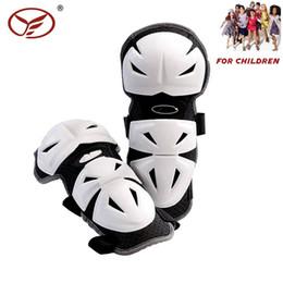 cuscinetti a gomito a maglia Sconti 2018 Motociclista per bambini Protezione per ginocchio per moto Shin Kids Motorcross Electric Scooter Guard Pad Protezione per bambini Sport