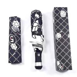 2019 guarda-chuvas para meninas França Marca Designer de Guarda-Chuva Chuva das mulheres Automáticas Árvore Dobrável Sol Chuva Meninas Guarda-chuva de Viagem de Negócios Carro Guarda-chuva desconto guarda-chuvas para meninas