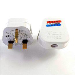 13A UK Prise électrique 3Pin Socket UK Connecteur Cord Cord Adapter 13 AMP Mains Top Appliance Prise de courant Fusible Adaptateur Ménage ? partir de fabricateur