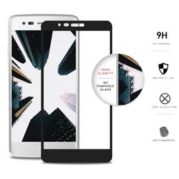pour LG Aristo 3 Stylo 4 Samsung J7 2018 J2 Core Moto E5 Play Plus Noir Couverture Complète 2.5D Edge Courbé Protecteur D'écran En Verre Trempé MetroPcs ? partir de fabricateur