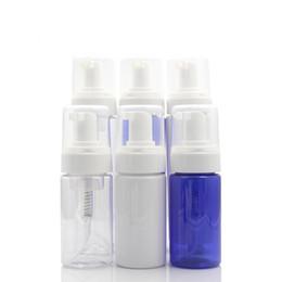 Canada 100ml voyage bouteilles de mousseur vides en plastique pompe à mousse bouteilles de savon bouteille de savon distributeur moussant liquide pour Castile crème de mousse liquide supplier cream foam Offre
