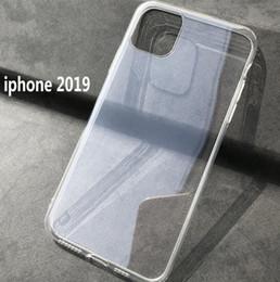 Canada Pour 2019 Nouveau iPhone 11 pro Max Shockproof Clear TPU Case 1.0MM Couverture souple TPU Transparent iphone xs max Offre