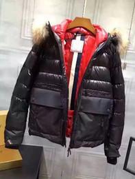 Manteau d'hiver col montant en Ligne-Mode d'hiver Vestes Parka homme Col Bomber Fermeture éclair Veste d'oie Chilliwackbomber Manteau chaud d'extérieur Manteaux de haute qualité