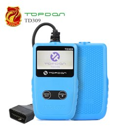 eobd tools Coupons - TOPDON TD309 EOBD OBDII Auto Code Reader OBD2 Scanner Diagnostic Tools With Reads and displays DTCs Erase Codes PK ELM327 MS309