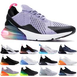caldo wome Sconti Scarpe da corsa Nike air max 270 Parra Hot Punch Photo Blue Cuscino e smorzamento traspirante bianco nero Mens Wome Unisex Scarpe Sneakers