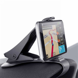 2019 telefonhalterung halter Universal Auto Armaturenbrett Halterung Ständer HUD Design Cradle für Handy GPS rabatt telefonhalterung halter