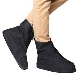 Couvertures de sécurité réutilisables pour moto Couvre-chaussures de vélo imperméables Couvrent la pluie Zips Galohes hiver Hommes et femmes Bottes antidérapantes ? partir de fabricateur