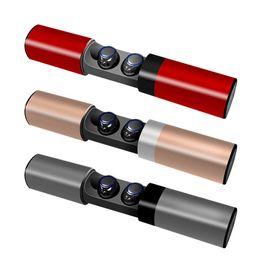 S2 TWS Auriculares inalámbricos Buletooth Auriculares inalámbricos Cargador magnético Banco de energía portátil para Iphone Samsung Sony Auriculares desde fabricantes