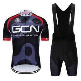 vetement velo bleu femme Promotion Tour de France 2019 vêtements de cyclisme équipe pro hommes / femmes gel été perméable à l'air jersey cycliste à manches courtes 9D cuissards rembourrés kit