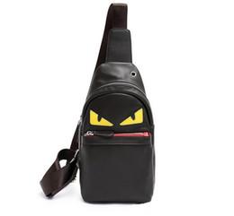Bolso de cuerpo cruz negro online-Hot Sale Cross Body Bags Monster Eyes Top Fashion Diseñador de lujo Bolsos de cuero de PU Bolsos de hombro de las mujeres Negro Ventas directas